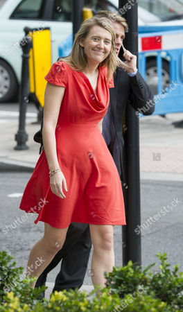 Jun 25 2017 - London United Kingdom - the Tower Blocks in Camden Which Are Being Evacuated After the Council Declared Them Unsafe Because of the Use of Similar Cladding to the Grenfell Tower Pictured is Georgia Gould 31 Who is Leader of Camden Council and Has Been at the Scene (wearing A Red Dress) (credit Image: Â