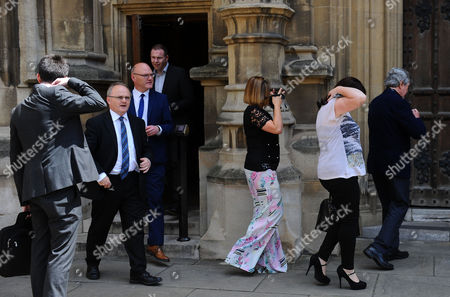 Jun 13 2017 - London United Kingdom - Picture Shows:sinn Fein at the House of Commons Today Mickey Brady Paul Maskey Elisha Mccallion Francie Malloy Barry Mcelduff Michelle Gildernew Chris Hazzard (credit Image: Â