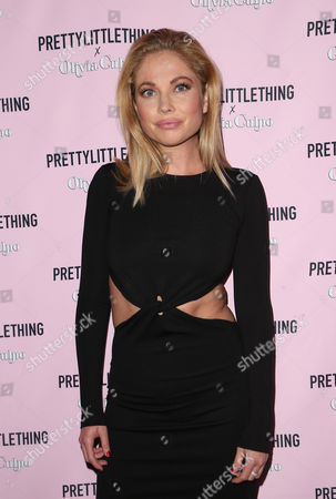 Editorial picture of PrettyLittleThing x Olivia Culpo collection launch, Los Angeles, USA - 17 Aug 2017