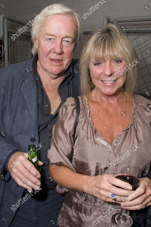 William Gaunt and Carolyn Lyster attend the after party on Press Night for Creditors at the Donmar Warehouse, London, England on the 30th September 2008.