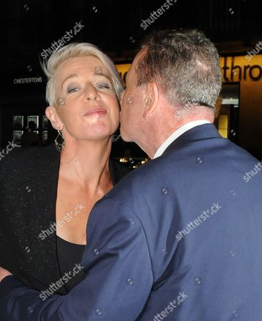Katie Hopkins and Charles Saatchi