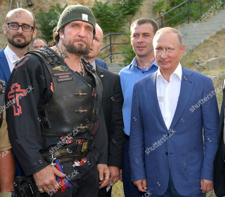 Vladimir Putin and Alexander Zaldostanov