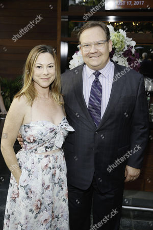 Samantha Bryant and Andy Richter