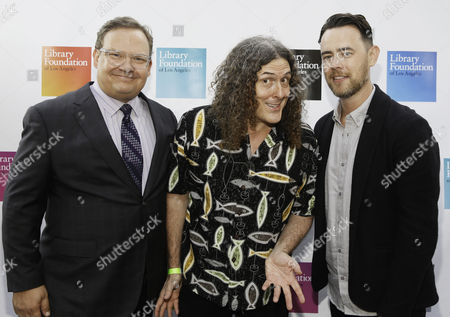 Andy Richter, Weird Al Yankovic and Colin Hanks
