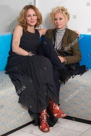 Allison Moorer, Shelby Lynne Allison Moorer, left, and Shelby Lynne pose for a portrait, in New York