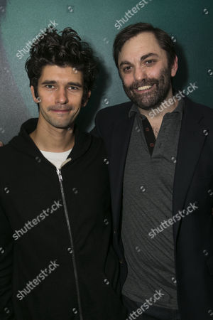 Ben Whishaw (Luke) and Christopher Shinn (Author)