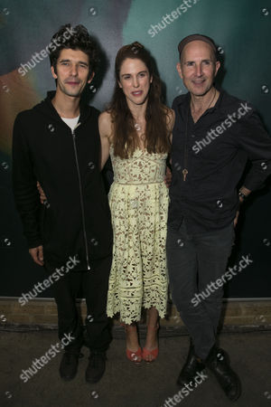 Ben Whishaw (Luke), Amanda Hale (Sheila/Kate) and Ian Rickson (Director)