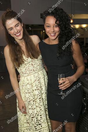 Amanda Hale (Sheila/Kate) and Adelle Leonce (Tracey)