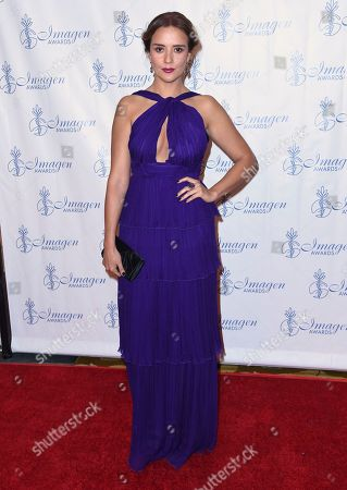 Stock Picture of Catalina Sandino Moreno arrives at the 32nd annual Imagen Awards at the Beverly Wilshire Hotel, in Beverly Hills, Calif