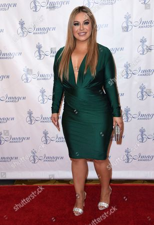 Chiquis Rivera arrives at the 32nd annual Imagen Awards at the Beverly Wilshire Hotel, in Beverly Hills, Calif