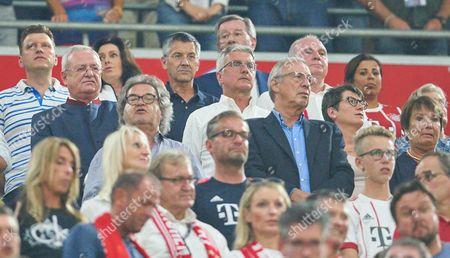 Stock Photo of Uli Hoeness, Dr. Martin Winterkorn, Rupert Stadler, Herbert Hainer, Helmut Markwort