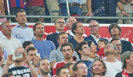 Andreas Jung, Karl-Heinz Rummenigge, Andreas Koepke, Thomas Schneider, Marcus Sorg, Jan-Christian Dreesen, Joachim Löw