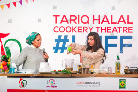 Editorial photo of London Halal Food Festival, UK - 19 Aug 2017