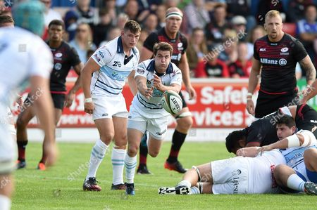 Editorial image of Bedford Blues v Saracens, UK - 19 Aug 2017