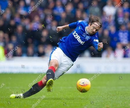 Editorial image of Rangers v Heart of Midlothian, SPFL Ladbrokes Scottish Premiership, Ibrox Stadium, Glasgow, UK - 19 August 2017