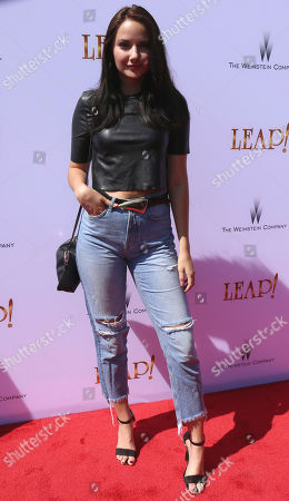 "Rachel Raquel arrives at the LA Premiere of ""Leap!"", in Los Angeles"
