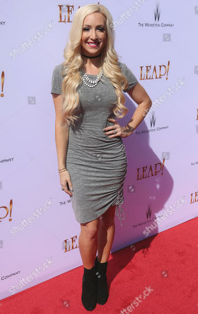 "Debbie Sherman arrives at the LA Premiere of ""Leap!"", in Los Angeles"