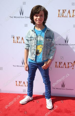 Editorial photo of 'Leap!' film premiere, Arrivals, Los Angeles, USA - 19 Aug 2017