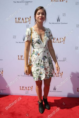 Editorial image of 'Leap!' film premiere, Arrivals, Los Angeles, USA - 19 Aug 2017