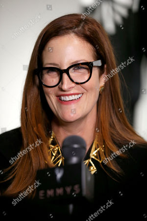 """Alix Friedberg, costume designer of """"Big Little Lies"""" at the 11th annual """"Art of Television Costume Design"""" opening at the FIDM Museum & Galleries on the Park on in Los Angeles"""