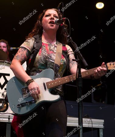 Ashley McBryde performs in concert as the opening act for Lynyrd Skynyrd and Hank Williams, Jr. at The BB&T Pavilion, in Camden, N.J