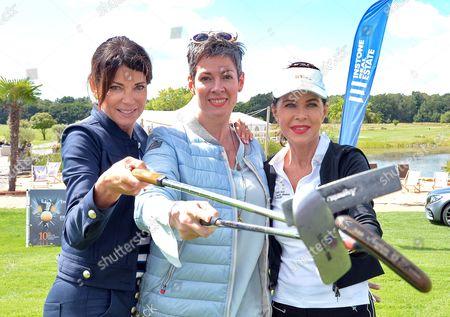 Gerit Kling, Cheryl Shepard and Anja Kruse