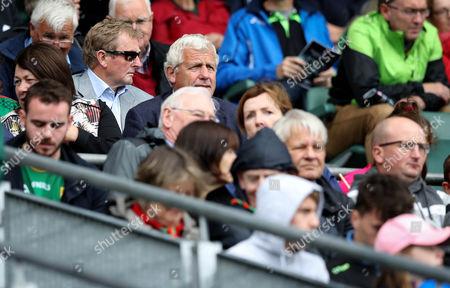 Kerry vs Mayo. Former taoiseach Enda Kenny