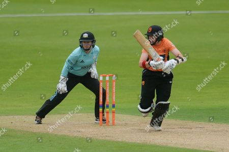 Arran Brindle of Southern Vipers bowling during the Women's Cricket Super League match between Southern Vipers and Surrey Stars at the Ageas Bowl, Southampton