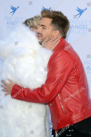 Aaron Carter and Adam Lambert