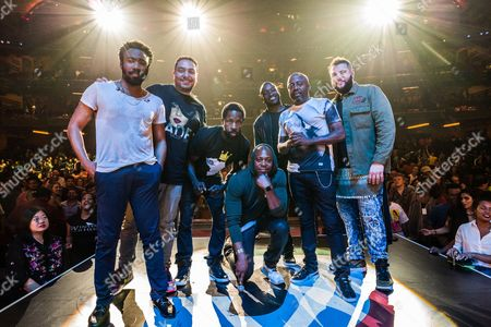Donald Glover, Cipha Sounds, Wil Sylvince, Dave Chappelle, Hannibal Buress, Donnell Rawlings and Mo Amer