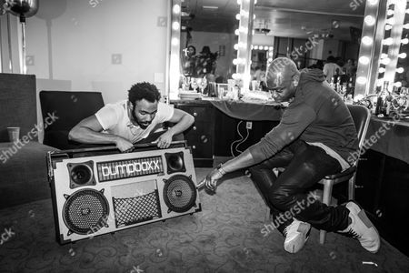 Donald Glover and Dave Chappelle