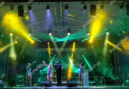 Editorial picture of Gustar Music Festival, Trebujeni Village, Moldova - 20 Aug 2017
