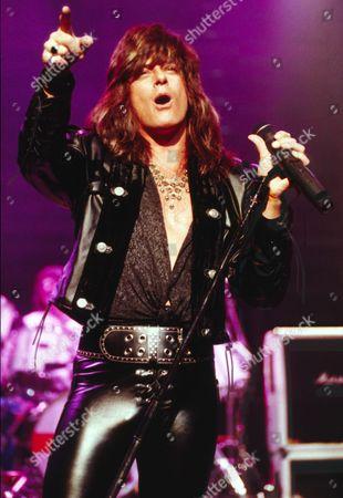 Editorial picture of Joe Lynn Turner in concert, London, UK - 1992