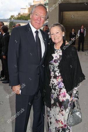 Herbert Kloiber mit Ehefrau Ursula
