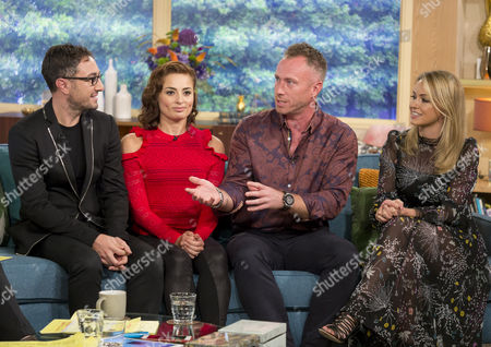 Vincent Simone and Flavia Cacace, and James and Ola Jordan