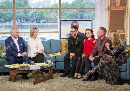 Vincent Simone and Flavia Cacace, and James and Ola Jordan, with Ruth Langsford and Eamonn Holmes