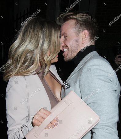 Stock Picture of Danielle Armstrong and Daniel Spiller