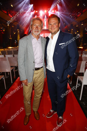 Paul Breitner mit Sohn Max