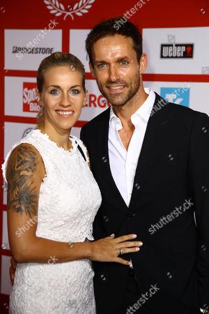 Sven Hannawald and Melissa Thieme