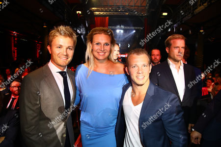 Nico Rosberg, Magdalena Brzeska and Fabian Hambuechen
