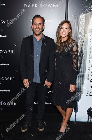 """Director Nikolaj Arcel and guest attend a special screening of """"The Dark Tower"""" at the Museum of Modern Art, in New York"""