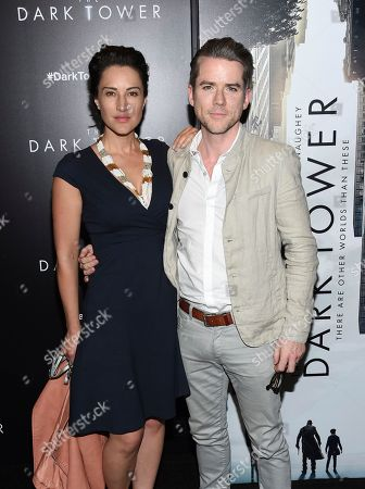 "America Olivo, Christian Campbell America Olivo and Christian Campbell attend a special screening of ""The Dark Tower"" at the Museum of Modern Art, in New York"