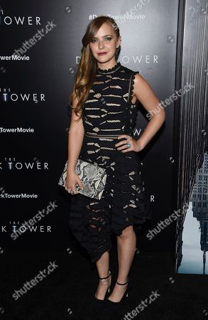 "Editorial photo of NY Special Screening of ""The Dark Tower"", New York, USA - 31 Jul 2017"