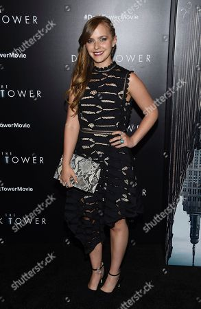 "Sara Cicilian attends a special screening of ""The Dark Tower"" at the Museum of Modern Art, in New York"