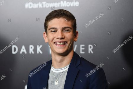 """Actor Michael Barbieri attends a special screening of """"The Dark Tower"""" at the Museum of Modern Art, in New York"""