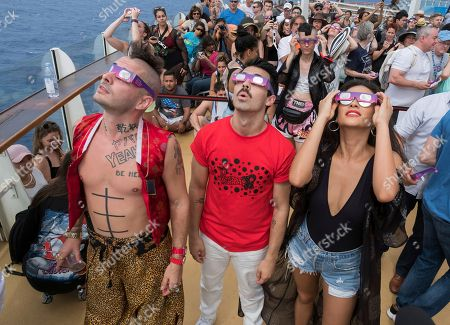 Editorial picture of Royal Caribbean Total Eclipse Viewing Party - 21 Aug 2017