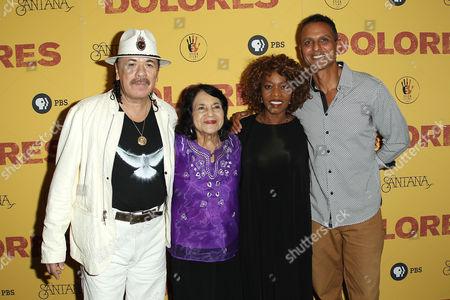 Carlos Santana, Dolores Huerta, Alfre Woodard, Peter Bratt