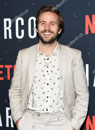 """Actor Michael Stahl David attends the Netflix series """"Narcos"""" season three premiere at AMC Loews Lincoln Square, in New York"""