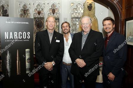 Chris Feistl, Michael Stahl-David, William Rempel, Pedro Pascal