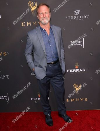 Louis Herthum arrives at the Performers Peer Group Celebration at the Montage Hotel, in Beverly Hills, Calif
